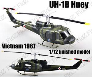 UH-1 Iroquois Huey helicopter Vietnam 1967 1/72 aircraft no diecast Easy model