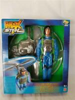 "Brand New MAX STEEL 2001 Pose-able 11"" Flying Action Figure SKY STRIKE"