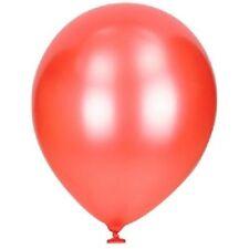 Globos de látex de fiesta color principal rojo para todas las ocasiones