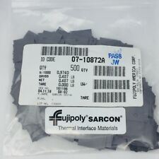 LOT OF 500 FUJIPOLY SARCON #30Y-A THERMAL HEAT PAD