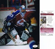 PATRICK ROY Signed COLORADO AVALANCHE 8x10 PHOTO - JSA #G84819