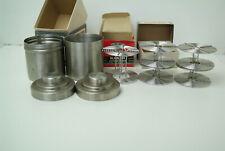 New listing Stainless Steel film developing tank lot of 2 tanks + 5 total reels- see below.