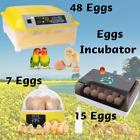 7~48 Eggs Incubator Digital Automatic Turner Chick Bird Hatcher Temperature Nice