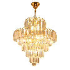Crystal lamp restaurant lights LED chandelier bedroom staircase aisle lamps