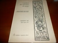 1971 Salamon i quaderni del conoscitore di Stampe numero 6 luglio - agosto