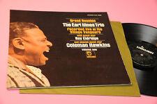 EARL HINES TRIO LP GRAND REUNION TOP JAZZ ORIG USA '60 EX GATEFOLD TEXTURED INSE