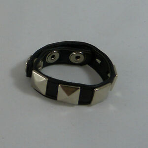 adjustable leather Studded penis ring CR-55, FREE UK DELIVERY