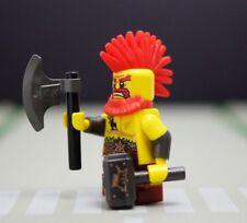 Lego Minifig 71018 Minifigure Series 17 No.10 Battle Dwarf (Hammer Axe) NEW