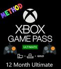 XBOX GAME PASS 12 MONTH GOLD MEMBERSHIP METHOD ✔ (NO CODE)