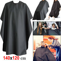 Barbers Hair Cut/Cutting Hairdressing Hairdressers Salon Barber Gown Cape Black