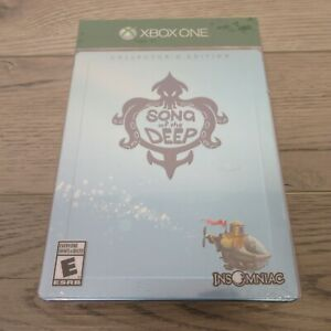 NEW Song of the Deep Xbox One Collectors Edition - Factory Sealed