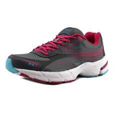 Zapatillas deportivas de mujer de tacón medio (2,5-7,5 cm) de color principal gris de piel