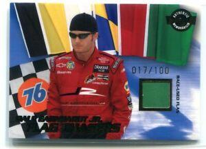 2004 Wheels High Gear Flag Chasers Green 7 Dale Earnhardt Jr. Flag 17/100