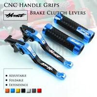 Folding Brake Clutch Levers Handle Grip for Honda CB599 CB600 CB900 HORNET 98-06
