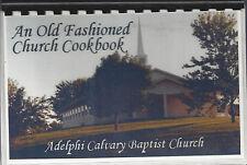 *RUNNELLS IA *AN OLD FASHIONED CHURCH COOK BOOK *ADELPHI CALVARY BAPTIST CHURCH
