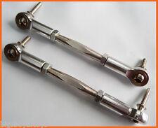 1/5 Baja Steering Turnbuckles Billet Silver by F5M ft Baja 5B 5T SC PRC KM Rovan