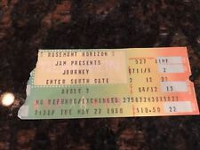 JOURNEY CONCERT TICKET STUB - ROSEMONT HORIZON - 5-27-1980 - EXCELLENT SHAPE!