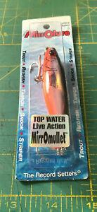 "Mirrolure 16MR-808 Mullet 3"" 3/8oz Topwater Fishing Lure"
