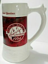 Gift for Him Baseball Wooden Beer Stein Sport Gift Custom Gift for Men Louis Cardinals Beer Mug Louis Cardinals Tankard St Personalized Beer Stein St