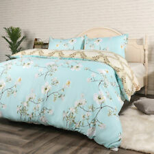 Bedding Set Duvet Cover Floral Pattern Soft Pillowcase Quilt Cover for Home King