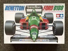 Tamiya 1:20 Scale Benetton Ford B188 F1 Precision Model Kit, 1988 #20021, NIB