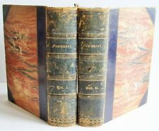 1844 CHRONICLES OF ENGLAND FRANCE SPAIN 2 vols Sir John Froissart illust VGC
