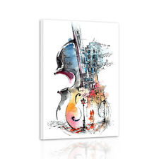 Unframed HD Canvas Print Wall Art Picture Poster Paintings Abstract Violin