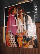 ROLLING STONES - 8 teiliges SUPERPOSTER aus ROCKY 1979 (KOMPLETT)
