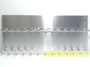 OPI GelColor ALUMINUM Wall SALON Display Rack Hold 24 OPI Bottles - Empty Rack