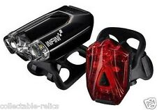 Infini Lava Rechargeable Lights Headlights Tail Front Rear Back Bike Flashing