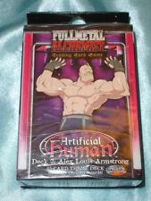 Fullmetal (Full Metal)  Alchemist TCG/CCG Starter Deck Armstrong *sealed*