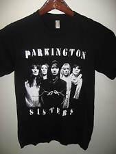 Parkington Sisters American Girl Band Group Music Concert Tour Black T Shirt Sm