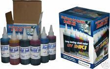 Refill Ink HP 02 Photosmart C6280 C7250 C7280 8250 CIS UV Resistant 6 colors