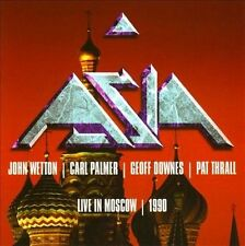 ASIA (ROCK) - LIVE IN MOSCOW 1990 (NEW CD)