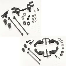 Tekno RC M6 Front & Rear Driveshafts & Steering Block Set Stampede/Slash 4x4
