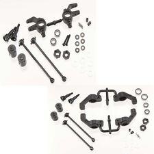 Tekno RC M6 Front & Rear Driveshafts & Steering Block Set Stampede/Slash 4x4