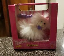 1998/67572-91 Barbie Pets Persian ~ White persian cat ~ NRFB