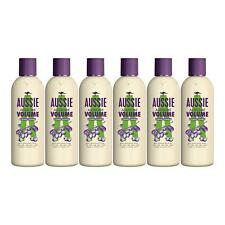 6 x Aussie Conditioner Aussome Volume Fine Hair Australian Hops Extract 250ml