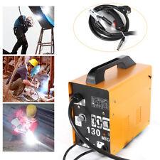 MIG-130 Elektrodenschweißmaschine Ampere Schweißgerät Schutzgas Flux Fülldraht