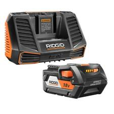 RIDGID AC848795SB 18-Volt HYPER Lithium-Ion Battery Pack 4.0Ah and Charger Kit