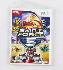 Nintendo Wii Hot Wheels Battle Force 5 video games