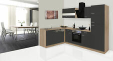 cucina angolo cottura winkelküche blocco vuoto RESPEKTA 280 cm rovere