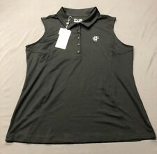 Under Armour Women's SL Golf Shirt Polo (XL, Black)(NWT) MSRP $55