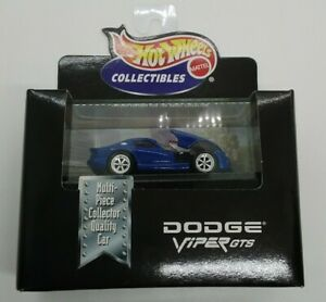 Hot Wheels Collectibles Limited Edition Dodge Viper GTS 1998 1:64 MIB!