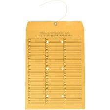 Quality String-Tie Jumbo Size Inter-Department Envelopes, 12 X 16 Inches, 10 Per