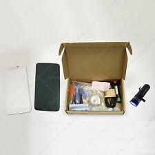 Kit Cristal Samsung Galaxy S5 White & Herramientas Linterna Pegamento UV BLANCO