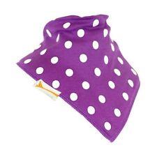 Funky Giraffe Purple & White Spots Bib **Buy 4 get 1 FREE** 5 for £11.96