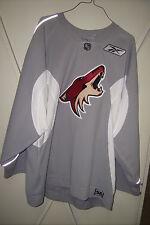 PHOENIX COYOTES rare unused gray #64 RBK practice jersey with socks (2008-2011)