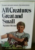 All Creatures Great and Small, James Herriot, 1972, 1st Ed, Hardcover Dustjacket