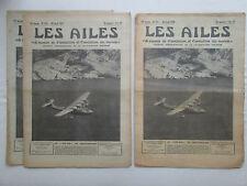 AILES 1939 931 LEo H-246 FARMAN FOKKER AMSTERDAM PZL SUM PLANEUR PHOTO AERIENNE